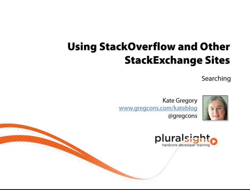 StackOverflow course is live!